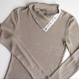 DOLAN waffle knit shirt
